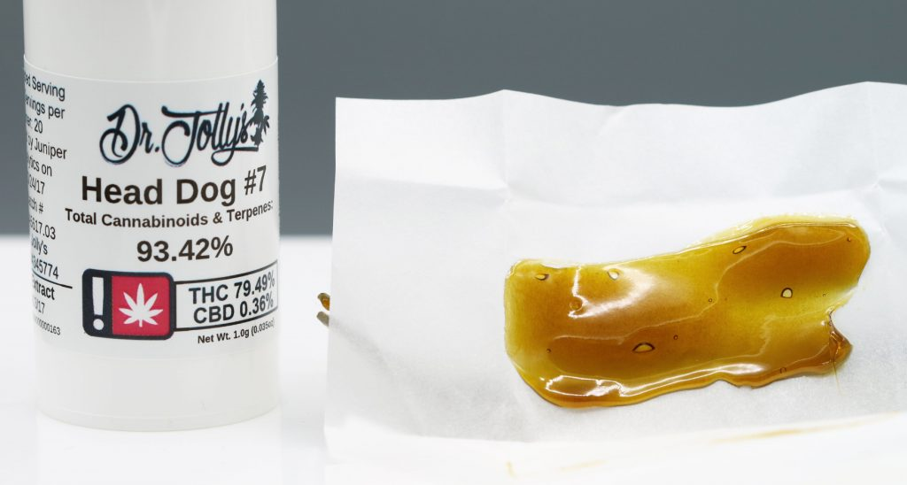 Head Dog 7 cannabis concentrate review