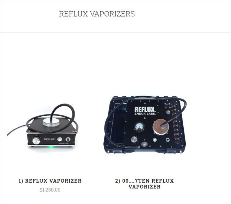 reflux vaporizers
