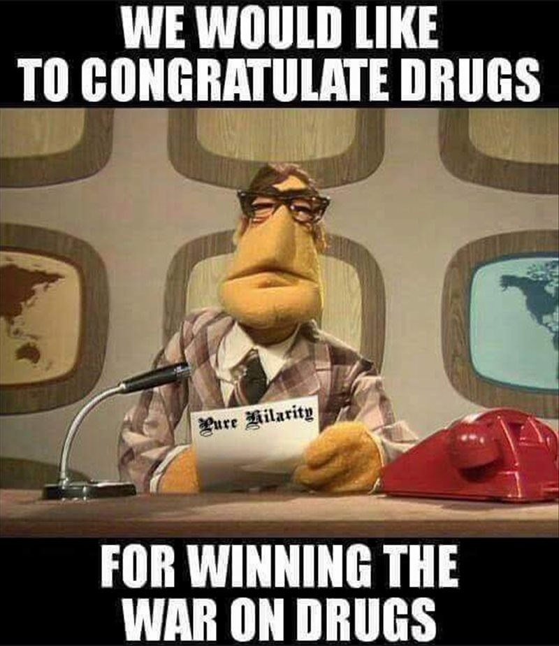 Drugs win