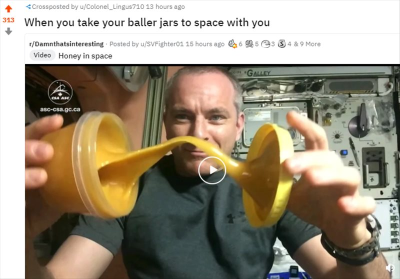 Dabs in Space